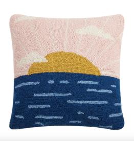 Peking Handicraft Sun Rise Hook Pillow
