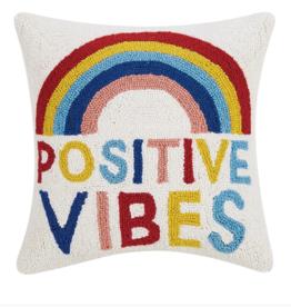 Peking Handicraft Positive Vibes Pillow