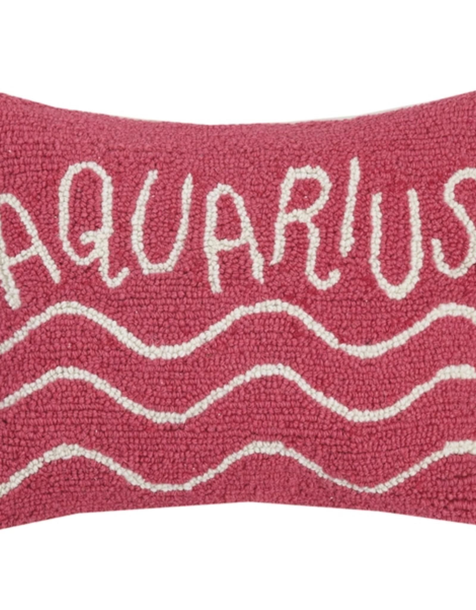 Peking Handicraft Aquarius Throw Hook Pillow