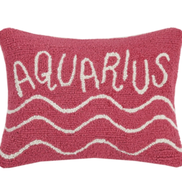 Peking Handicraft Aquarius Throw Hook Pillow