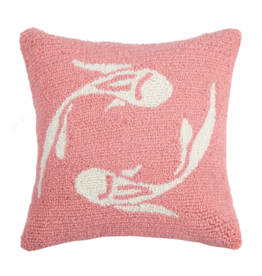Peking Handicraft Pisces Hook Pillow