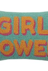 Peking Handicraft Girl Power Hook Pillow