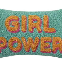 Peking Handicraft Girl Power Hook Pillow