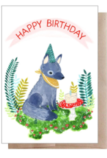 Marika Paz Illustration Birthday Cub Greeting Card