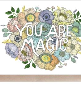 Marika Paz Illustration You are Magic Greeting Card