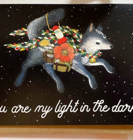 Marika Paz Illustration Light in the Dark Card