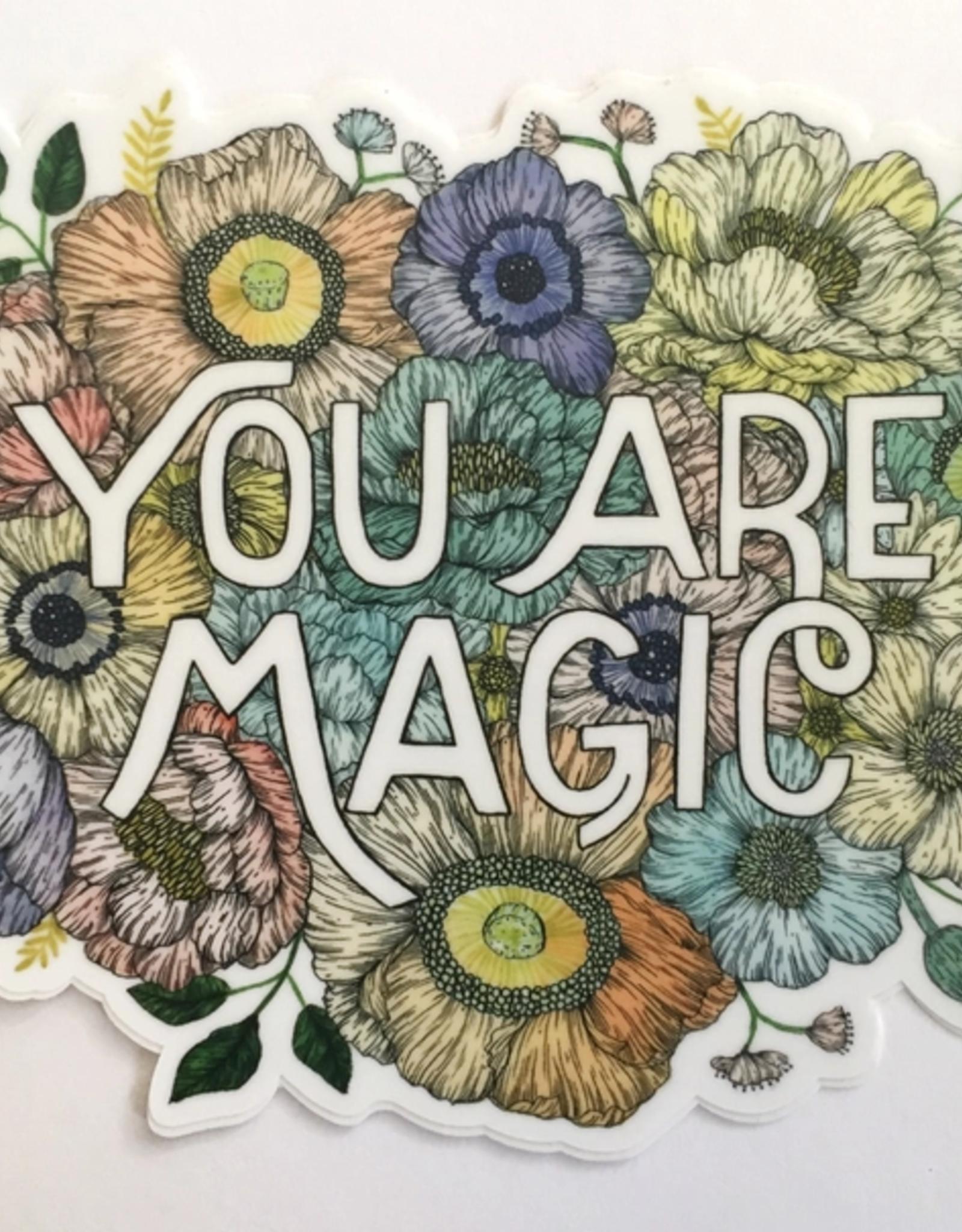 Marika Paz Illustration You Are Magic Sticker*