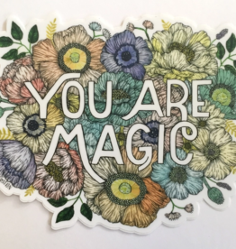 Marika Paz Illustration You Are Magic Sticker*