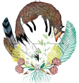 Marika Paz Illustration *Fox Oracle Animal Postcard