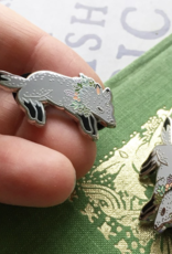 Marika Paz Illustration Wolf Beastie Pin