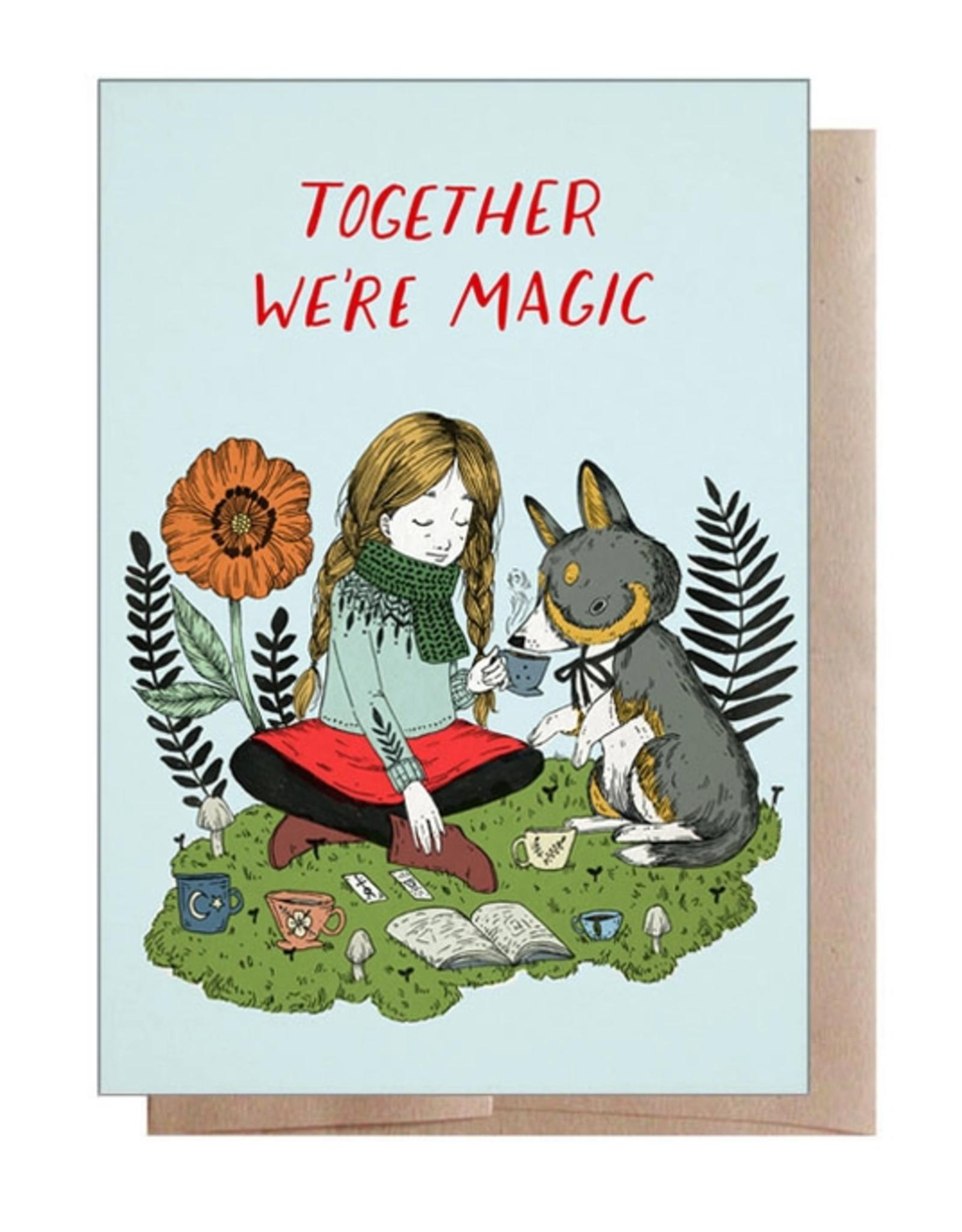Marika Paz Illustration Together We're Magic Greeting Card