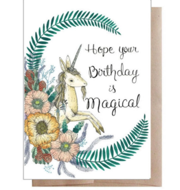 Marika Paz Illustration Magical Birthday Greeting Card