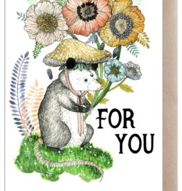 Marika Paz Illustration For You Greeting Card