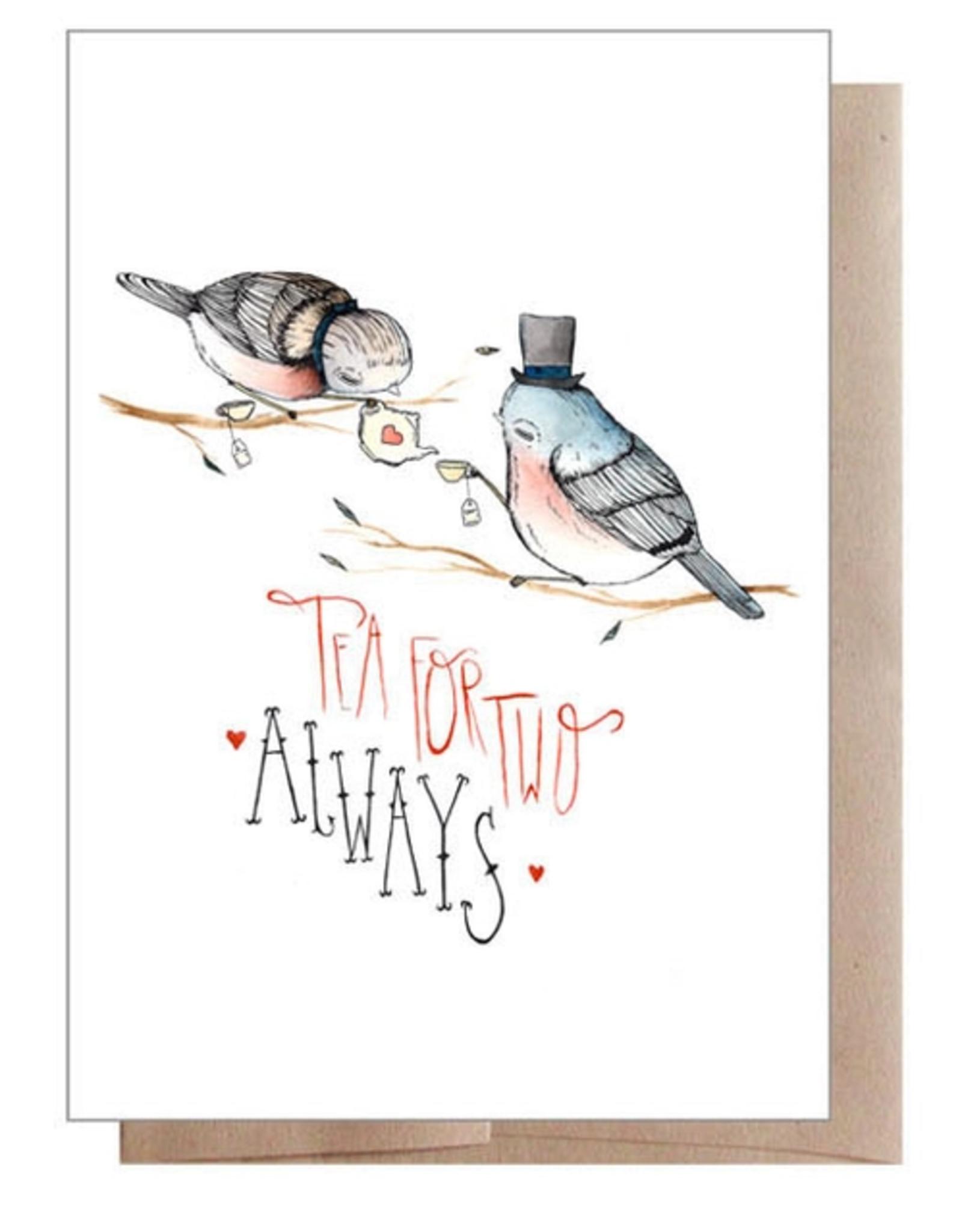 Marika Paz Illustration Tea For Two Greeting Card