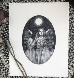 Caitlin McCarthy Art Coven Print