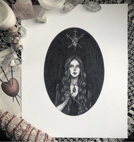 Caitlin McCarthy Art The Love Witch Print