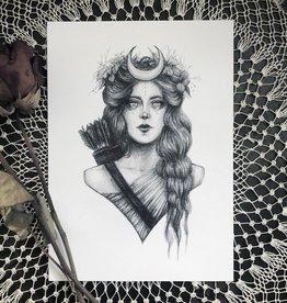Caitlin McCarthy Art Artemis Print