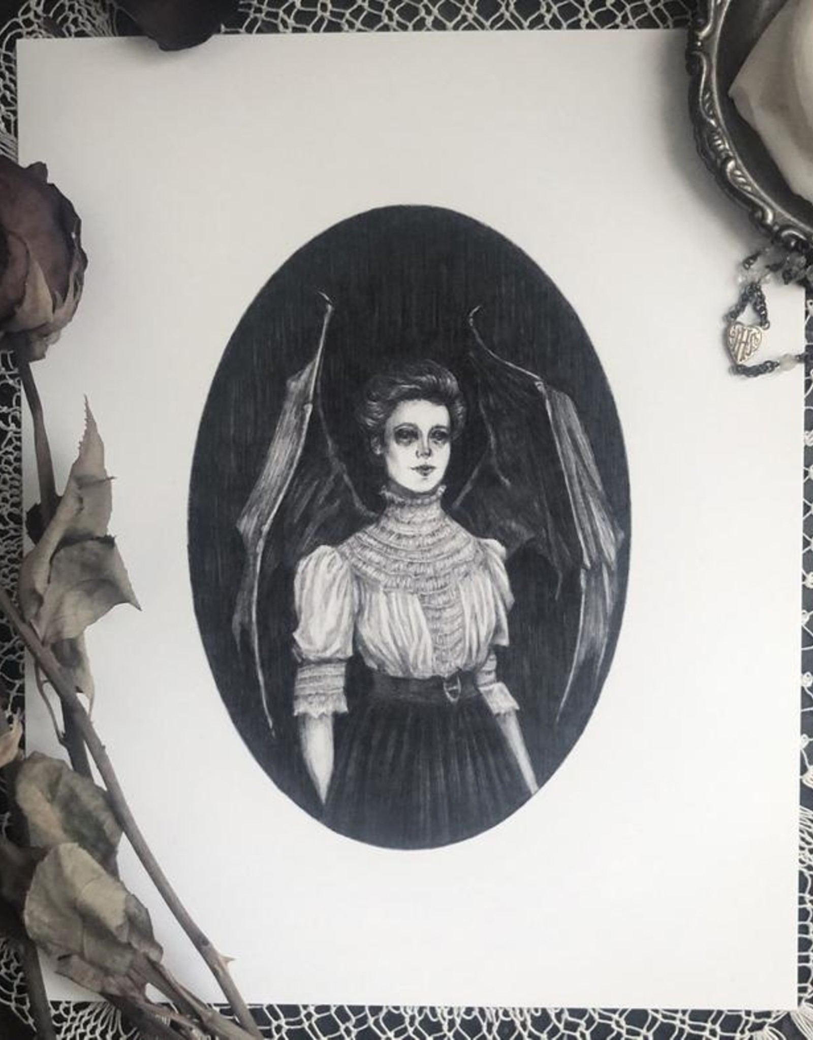 Caitlin McCarthy Art Lilith Print