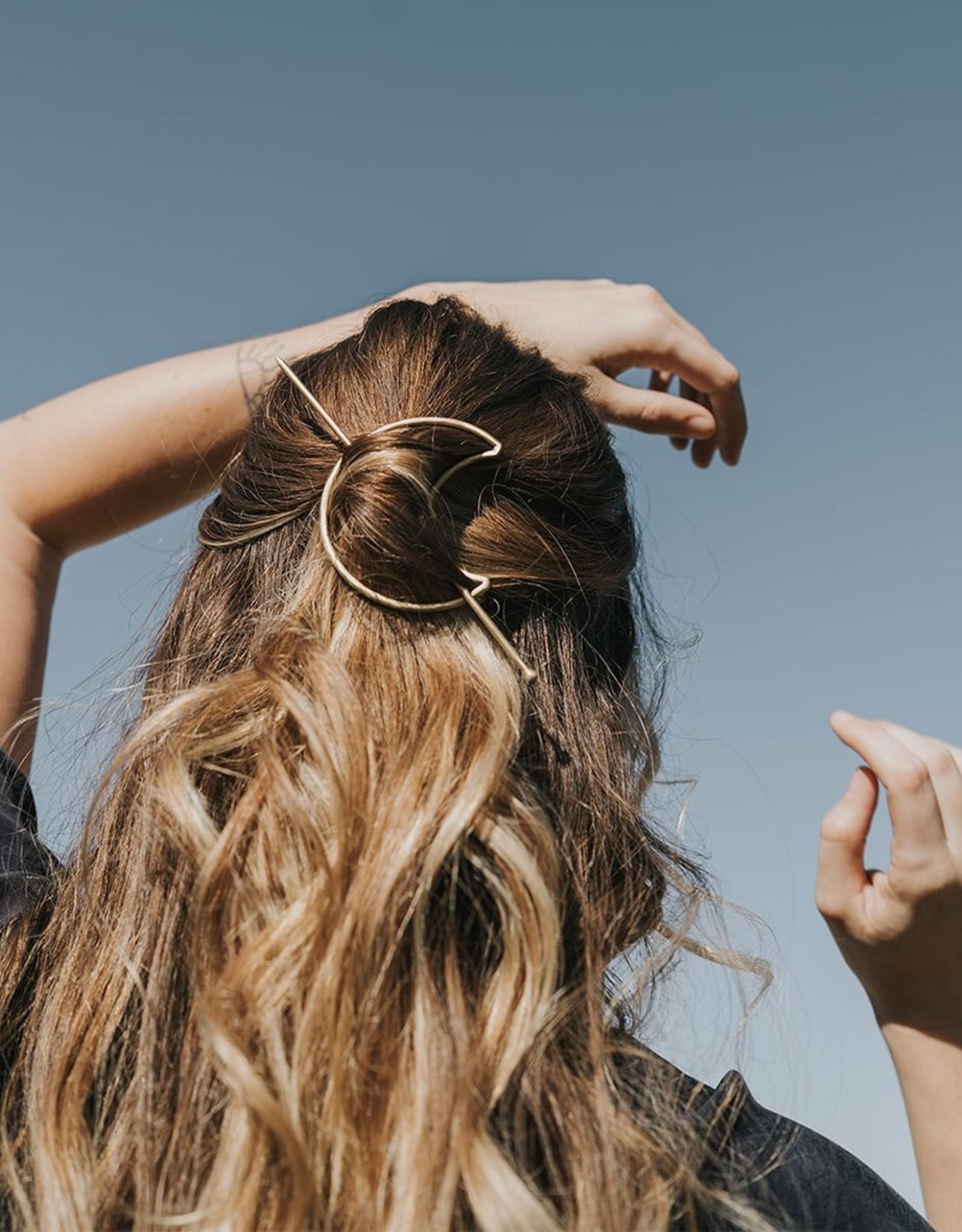 Matr Boomie Indukala Crescent Hair Hoop & Pin*