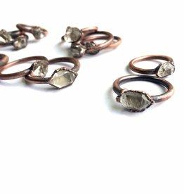 HawkHouse Raw Crystal Ring