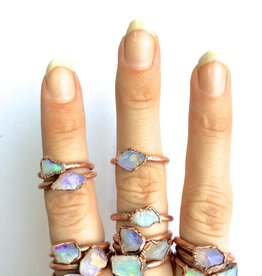 HawkHouse Raw Opal Ring
