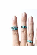 HawkHouse Turquoise stone ring