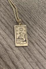 Memento Mori Designs NYC The Star Tarot charm with chain
