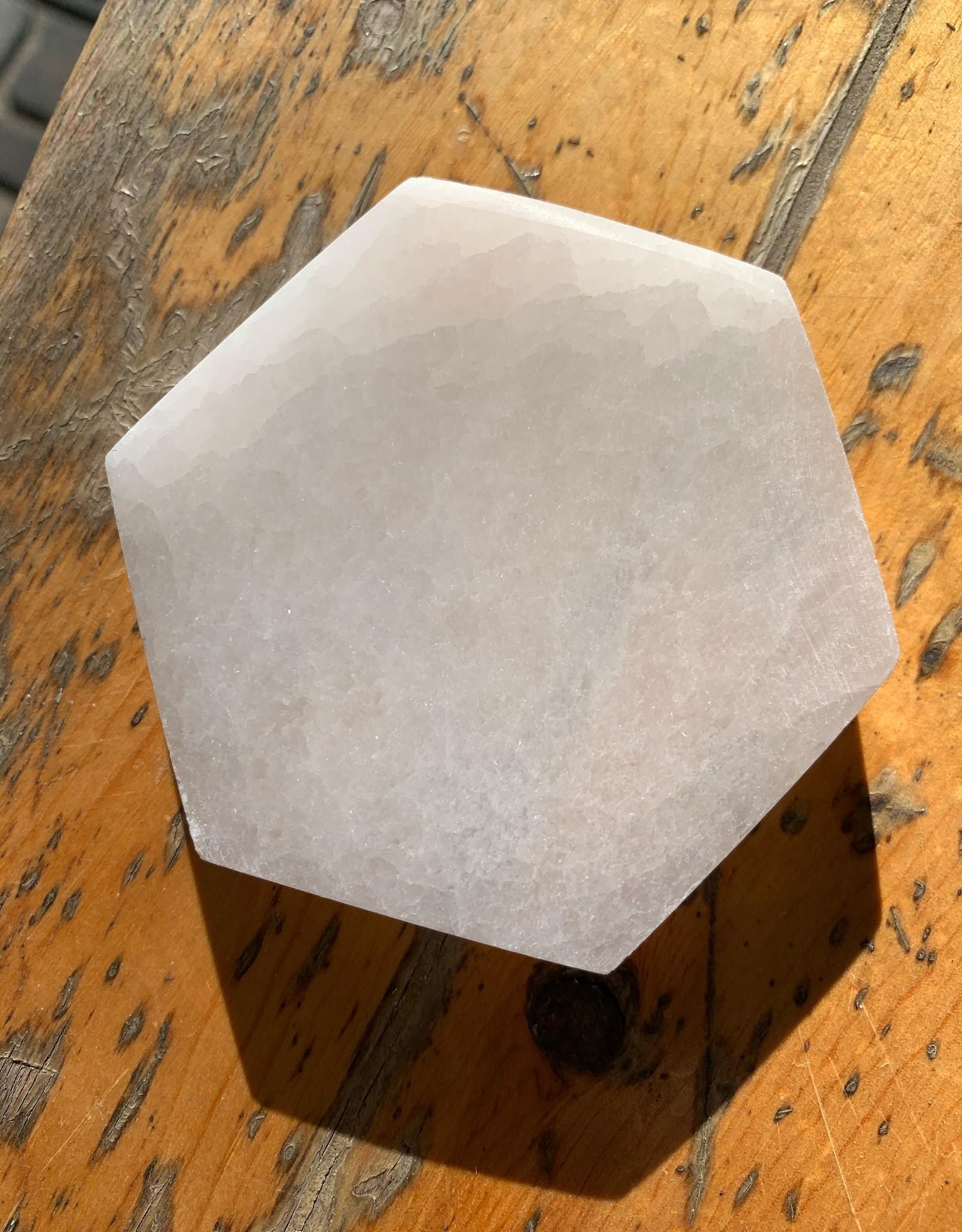 Pelham Grayson Selenite Charging Plate - Hexagon