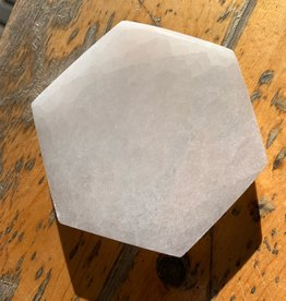 Pelham Grayson Selenite Charging Plate - Hexagon