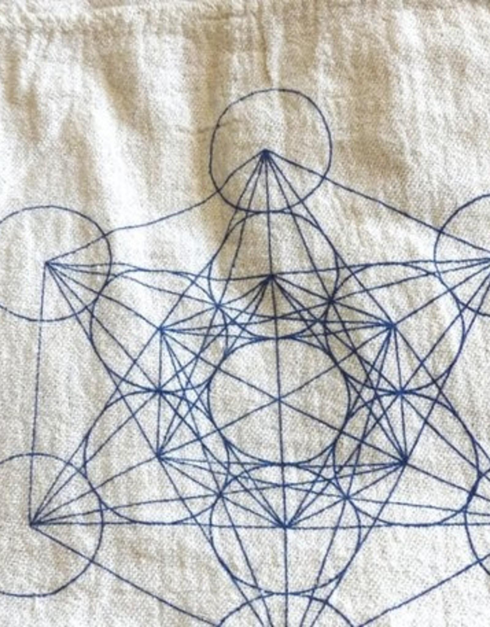 Crystal Grids Crystal Grid Cloth: Metatron's Cube