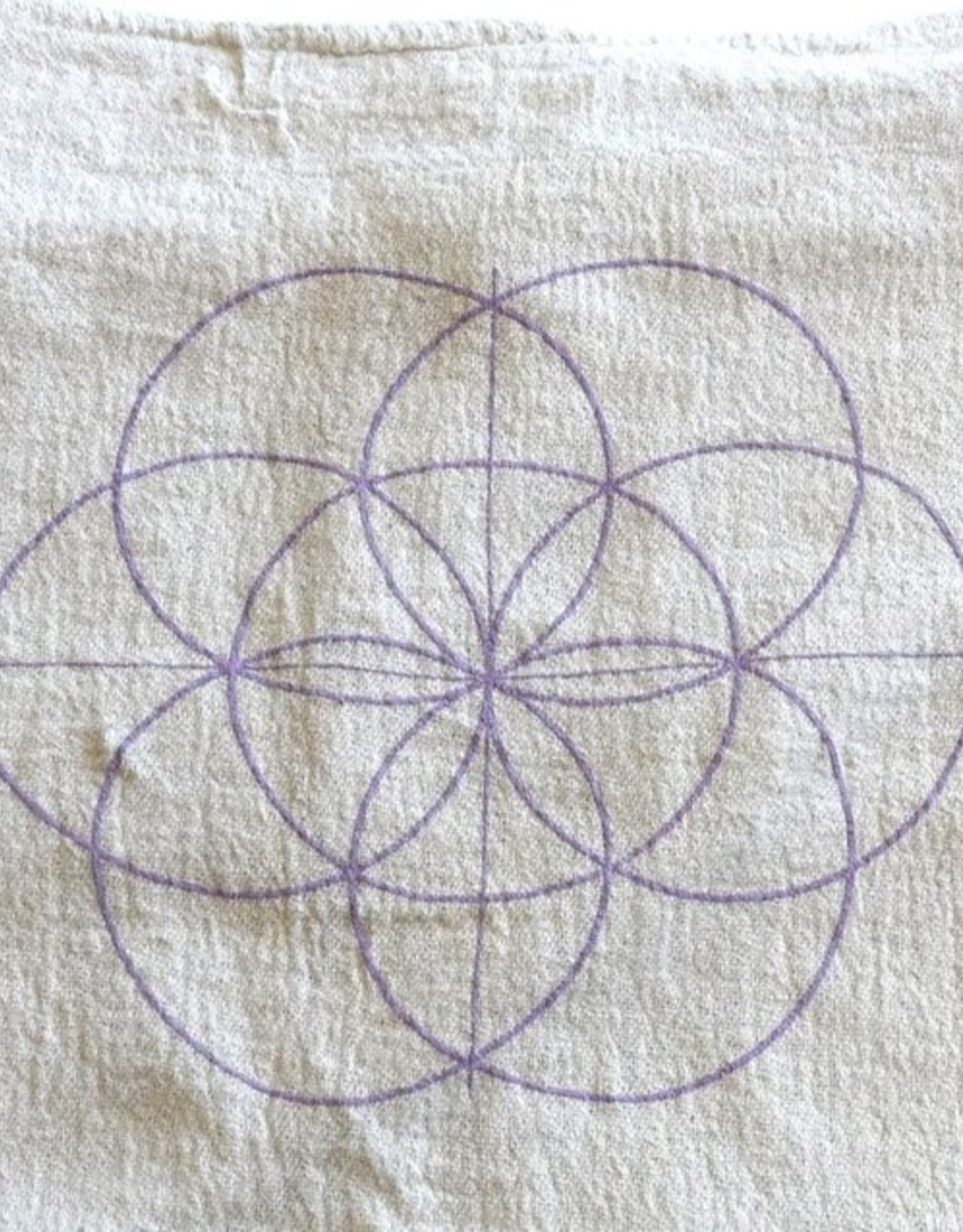 Crystal Grids Crystal Grid Cloth: Seed of Life
