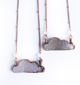 HawkHouse Druzy cloud necklace