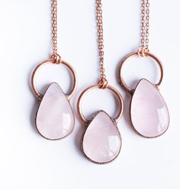 HawkHouse Rose Quartz Necklace