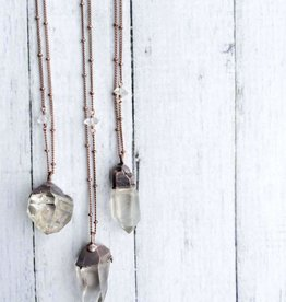 HawkHouse Raw crystal necklace
