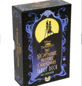 Simon & Schuster The Nightmare Before Christmas Tarot Deck and Guidebook