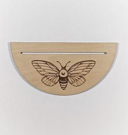 Ritual Pursuits Half Circle Tarot Card Holder- Moth (DC)