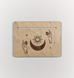 Ritual Pursuits Sun and Moon Tarot Card Holder