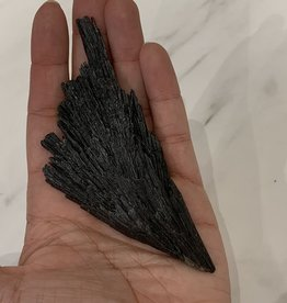 Pelham Grayson Black Kyanite Fan (Large)