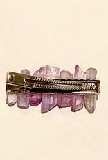 Sparkling Lilac, LLC Lavender Quartz Hair Clip