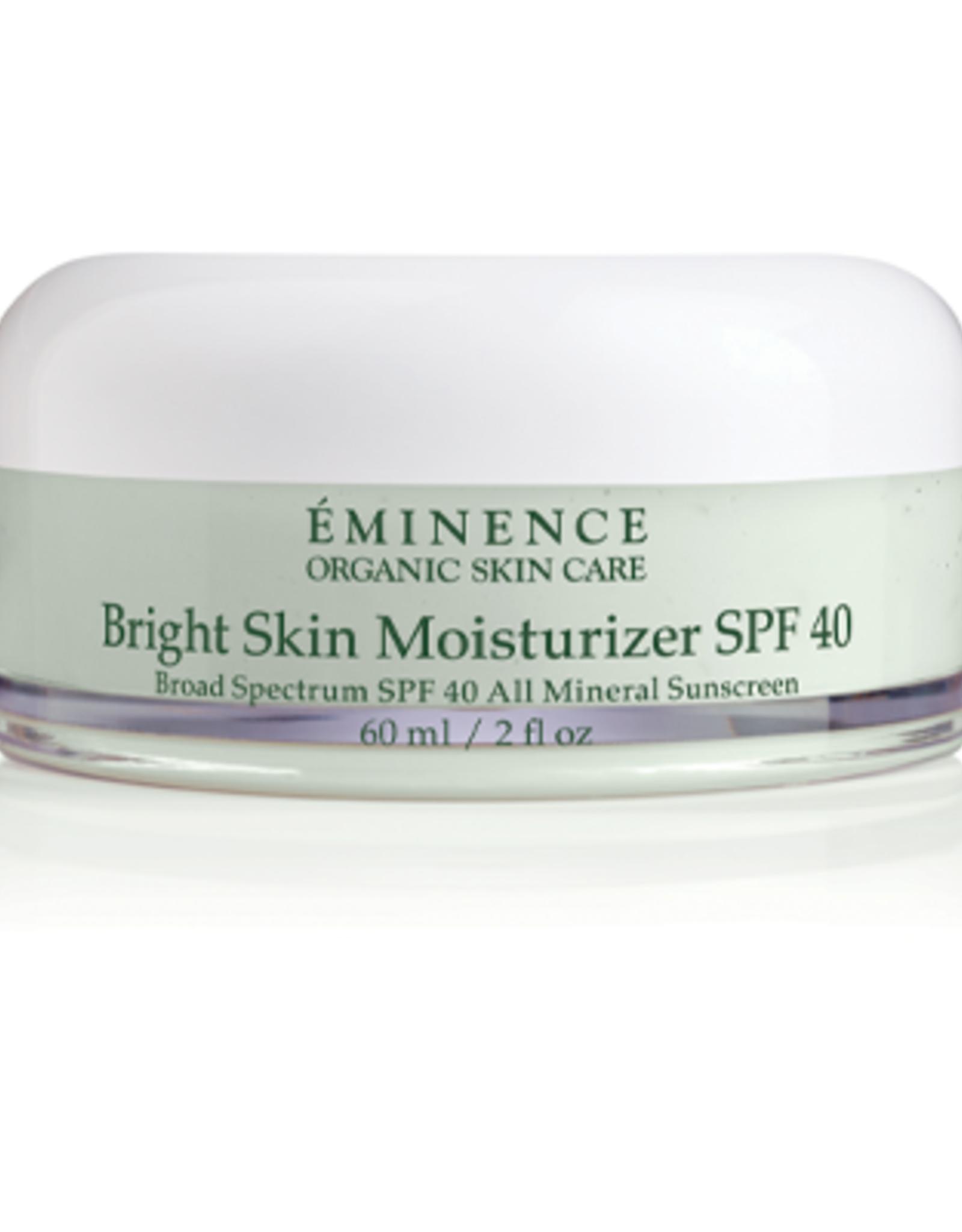 Eminence Organic Skin Care Bright Skin Moisturizer SPF 40