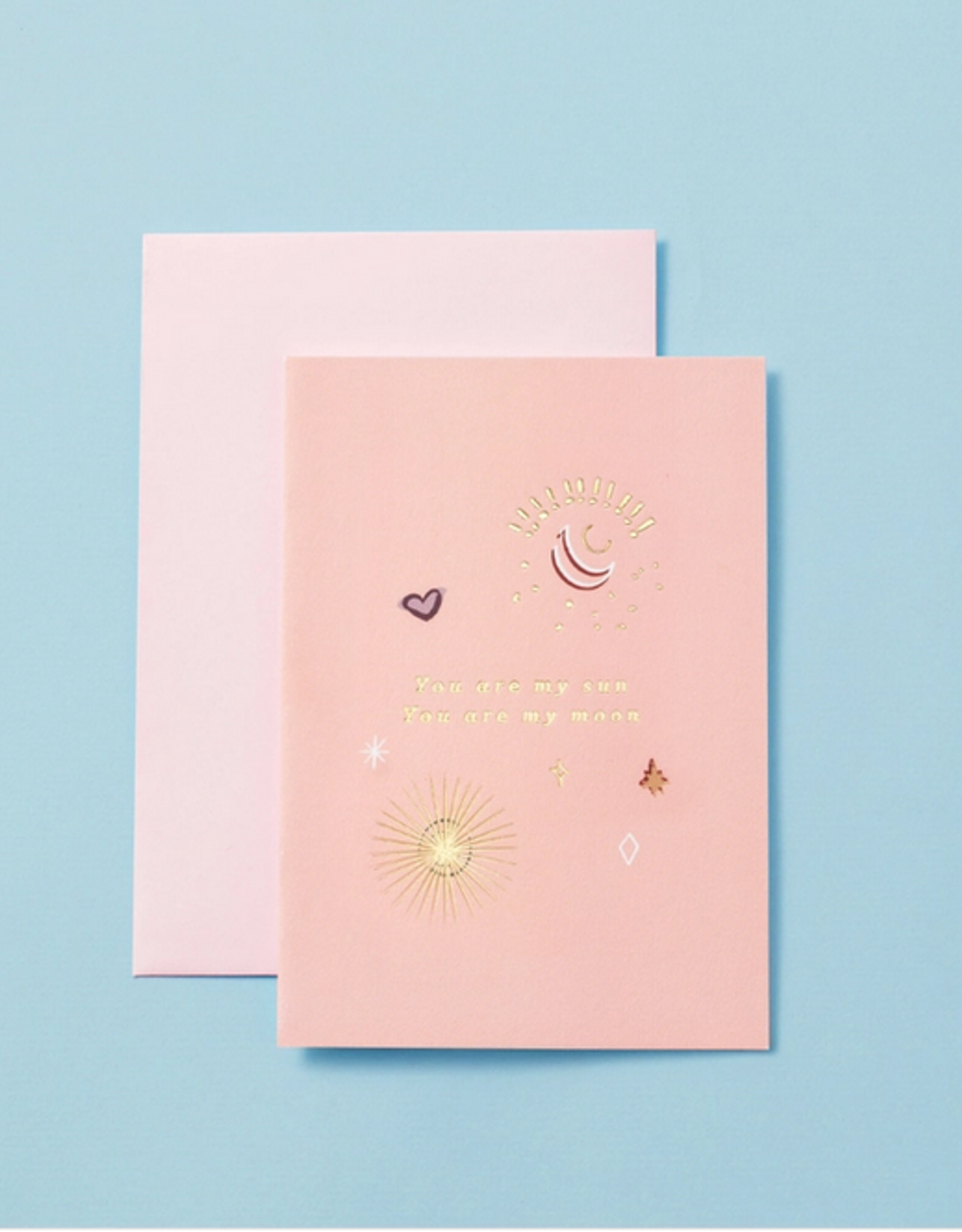 type and story You Are My Sun, You Are My Moon Card