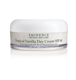 Eminence Organic Skin Care Tropical Vanilla Day Cream SPF 40