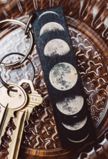 Most Amazing Moon Phases Full Color Keychain