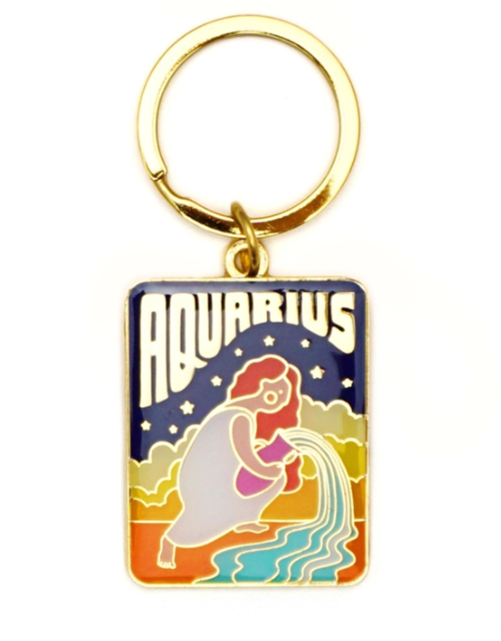 Lucky Horse Press Zodiac Keychain