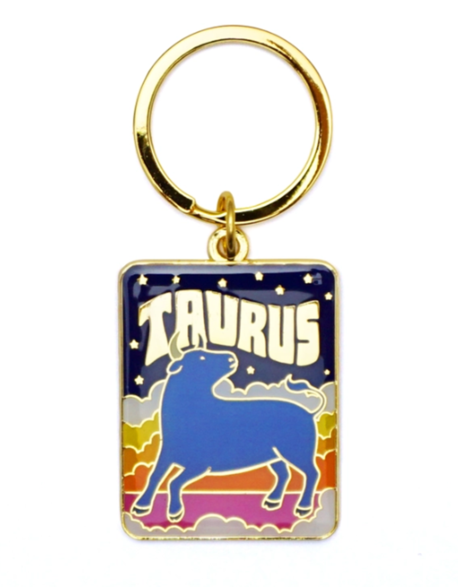 Lucky Horse Press Zodiac Keychain