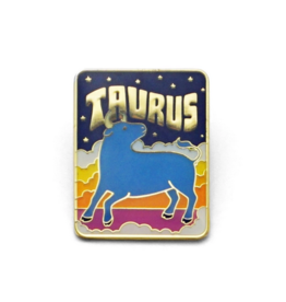 Lucky Horse Press Zodiac Enamel Pin
