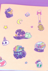 Turtle's Soup Witchy Starter Pack Vinyl Sticker Sheet