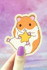 Turtle's Soup HamStar Hamster Vinyl Sticker
