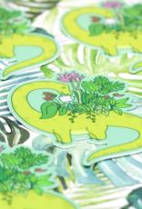 Turtle's Soup Leafy Brontosaurus Vinyl Sticker