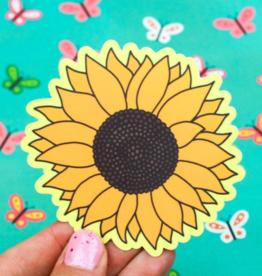 Turtle's Soup Sunflower Vinyl Sticker